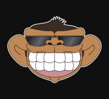 Happy monkey MIB by rasgadow