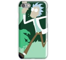 Rick & Morty Runnin' iPhone Case/Skin