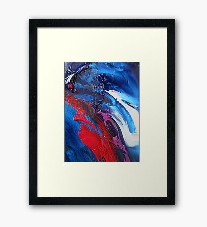 Flesh Wound Framed Print