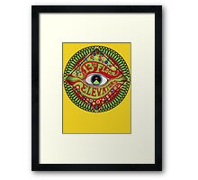 The 13th Floor Elevators Framed Print