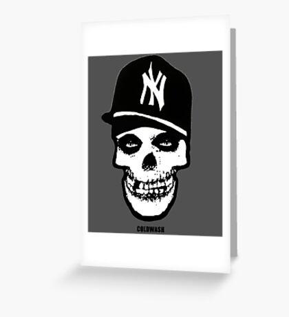 NY MISFIT Greeting Card