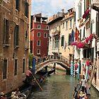 Venice canals 5 by Elena Skvortsova