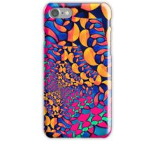 Psychedelic Abstract Twisted  Pattern  iPhone Case/Skin