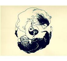 YinYang  Photographic Print