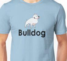 Bulldog Dog Owner Sticker Unisex T-Shirt