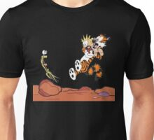calvin and hobbes - Wow Unisex T-Shirt