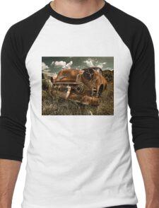 Abandoned 1953 Chevy Belair Men's Baseball ¾ T-Shirt