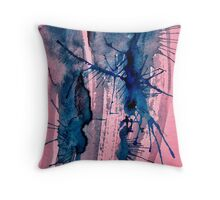 Unused Psychedelic Cover Design 2013 Throw Pillow