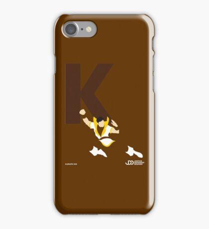 Karate Kid - Superhero Minimalist Alphabet Clothing iPhone Case/Skin