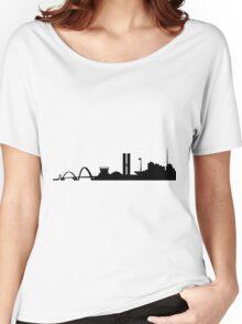 Brasilia skyline Women's Relaxed Fit T-Shirt