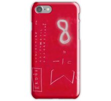 Conjecture On Arithmetic Progression With Paul Erdos iPhone Case/Skin