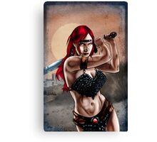 Barbarian Woman Canvas Print