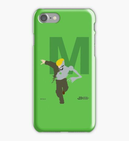 Metallo - Superhero Minimalist Alphabet Clothes iPhone Case/Skin