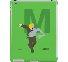 Metallo - Superhero Minimalist Alphabet Clothes iPad Case/Skin