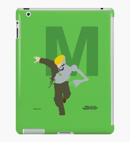 Metallo - Superhero Minimalist Alphabet Clothes iPad Case/Skin