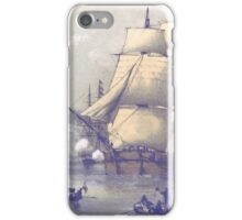 The Eventful Voyage of H.M. Resolute (1857) iPhone Case/Skin