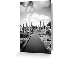 Glasnevin Cemetery Greeting Card
