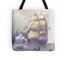 The Eventful Voyage of H.M. Resolute (1857) Tote Bag