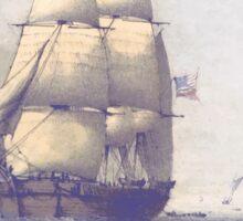 The Eventful Voyage of H.M. Resolute (1857) Sticker