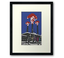 Up in smoke lithograph Framed Print