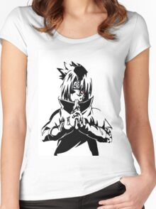 SASUKE Women's Fitted Scoop T-Shirt