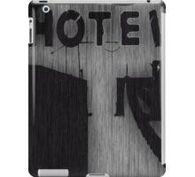 Hotel Silhouette iPad Case/Skin