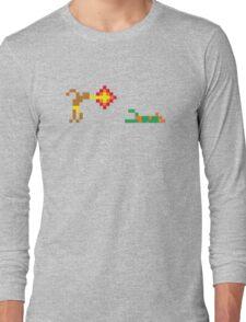 Street Fighter - Dhalsim vs Blanka Long Sleeve T-Shirt