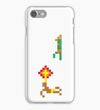 Street Fighter - Dhalsim vs Blanka iPhone Case/Skin
