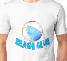 Watercolor Beach Club Unisex T-Shirt