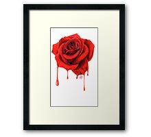 Painting the Roses Red Framed Print