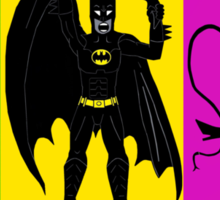 Batman Returns Trio Sticker
