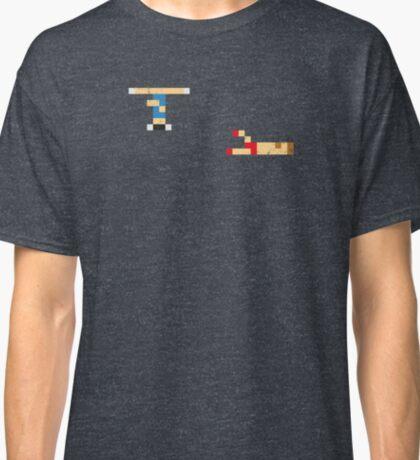 Street Fighter - Chun li vs Zangief Classic T-Shirt