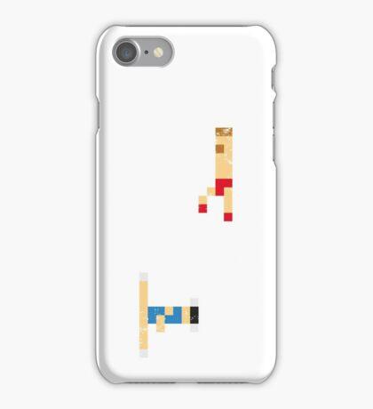 Street Fighter - Chun li vs Zangief iPhone Case/Skin