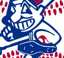 Cleveland Indians Primary Logo Sticker Sticker