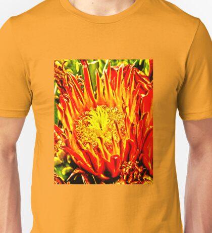 Southwest Cactus Flower Unisex T-Shirt