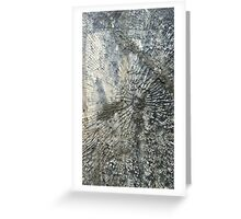 Bullets and Glass Greeting Card