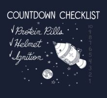 Countdown Checklist Kids Tee