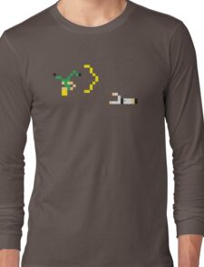 Street Fighter - Guile vs Ryu Long Sleeve T-Shirt