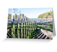 """""""A New End"""" A New Shoreline Greeting Card"""