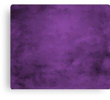 LowPoly Purple Canvas Print
