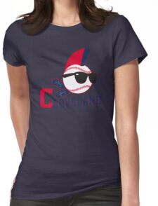 lets go cleveland  Womens Fitted T-Shirt