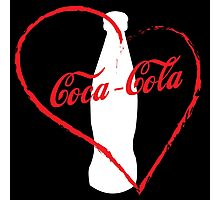 I love coca-cola Photographic Print