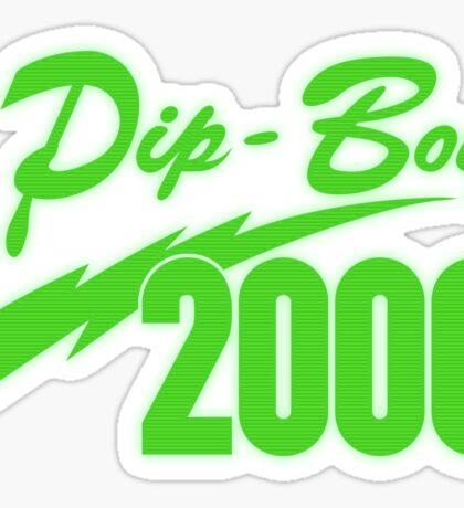 Pip Boy 2000 Sticker