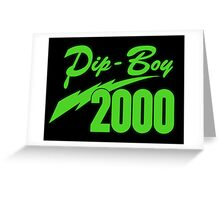 Pip Boy 2000 Greeting Card