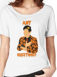 David Pumpkins-SNL Women's Relaxed Fit T-Shirt
