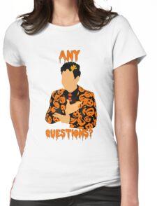 David Pumpkins-SNL Womens Fitted T-Shirt