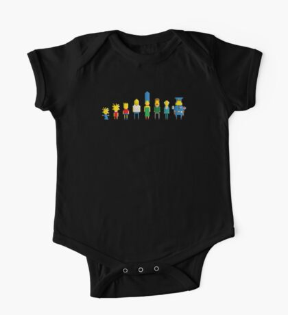 The simpsons - Pixel serie One Piece - Short Sleeve