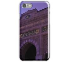 In this building educated. iPhone Case/Skin