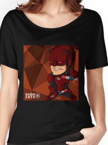 Cartoon Daredevil Women's Relaxed Fit T-Shirt