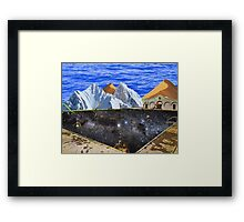 The Public Swimming Pool Framed Print